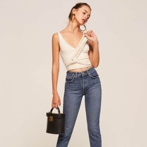 Reformation Skinny French Jeans